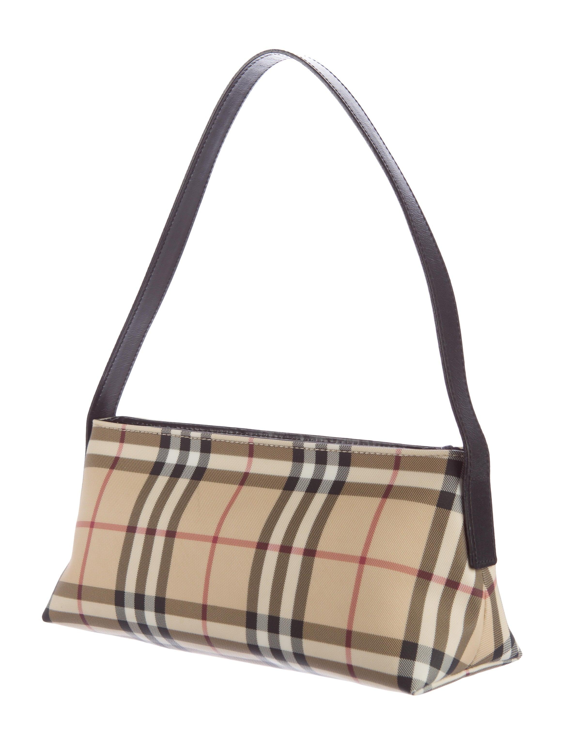 Burberry Nova Check Shoulder Bag - Handbags - BUR68046 ...