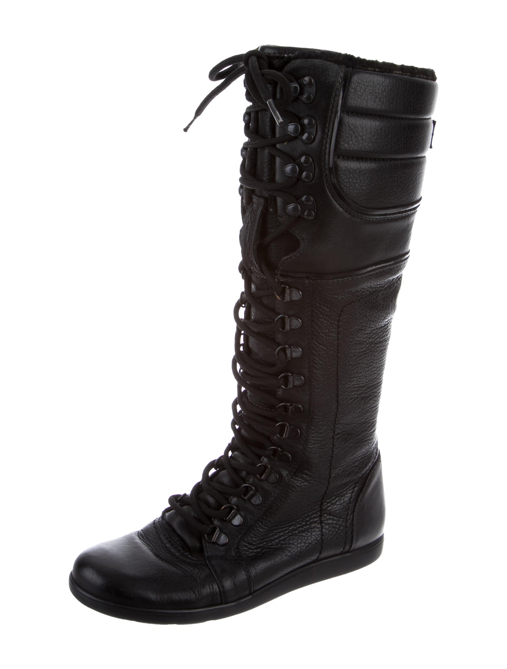 burberry leather lace up boots shoes bur68049 the