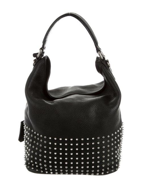 fe9d54f36d Burberry Susanna Medium Studded Bucket Bag - Handbags - BUR68103 ...