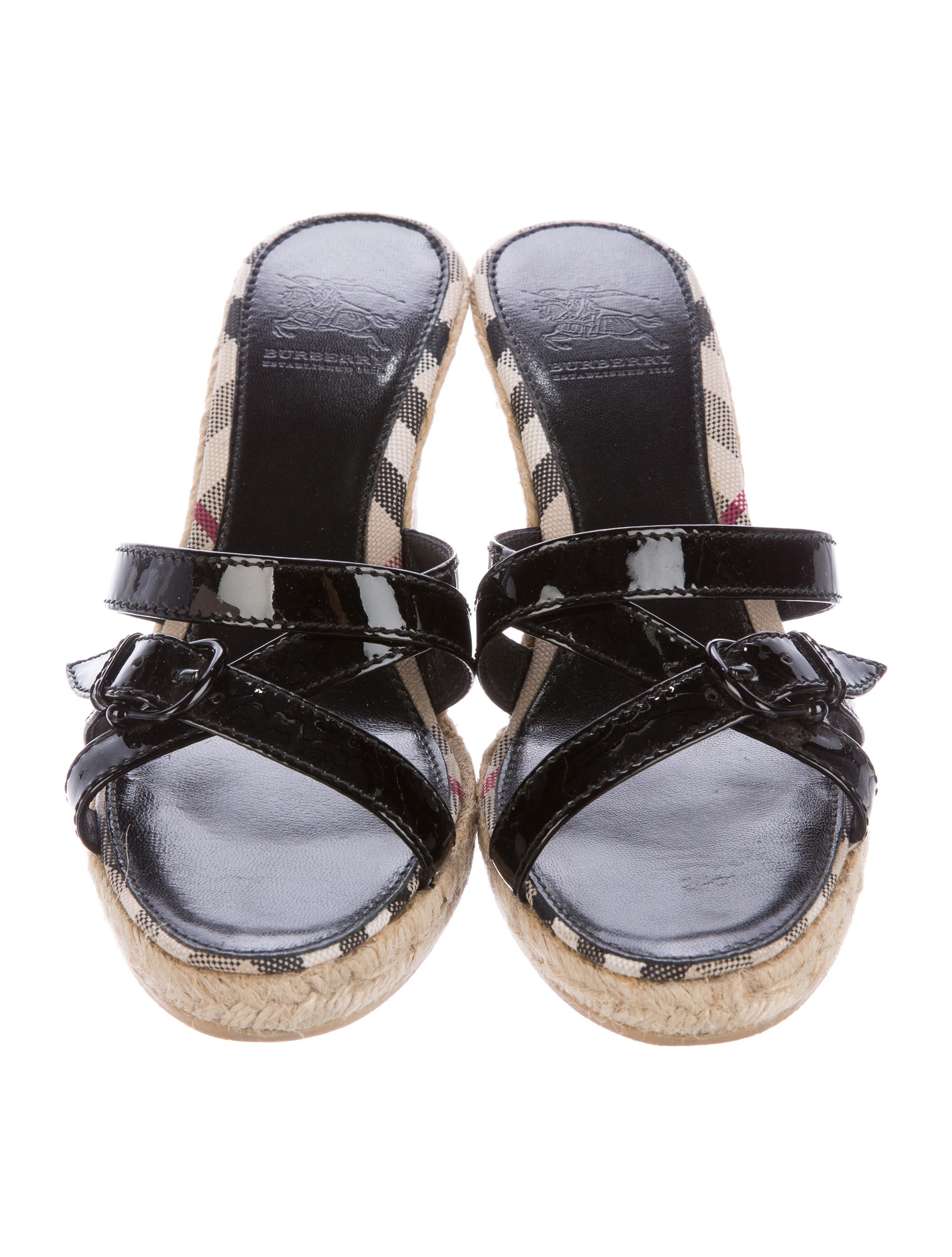 burberry espadrille wedge sandals shoes bur68375 the