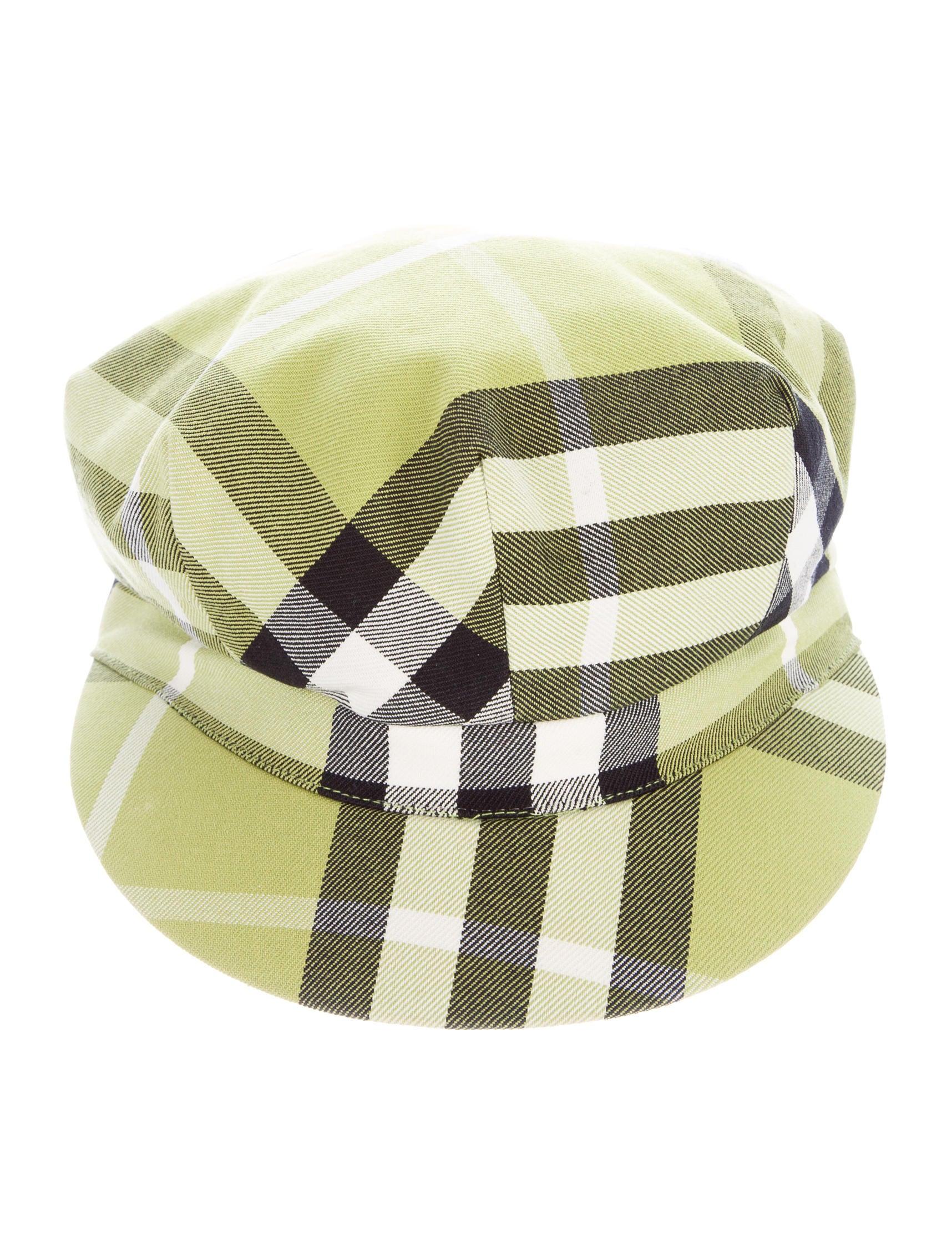 burberry check newsboy hat accessories bur68383