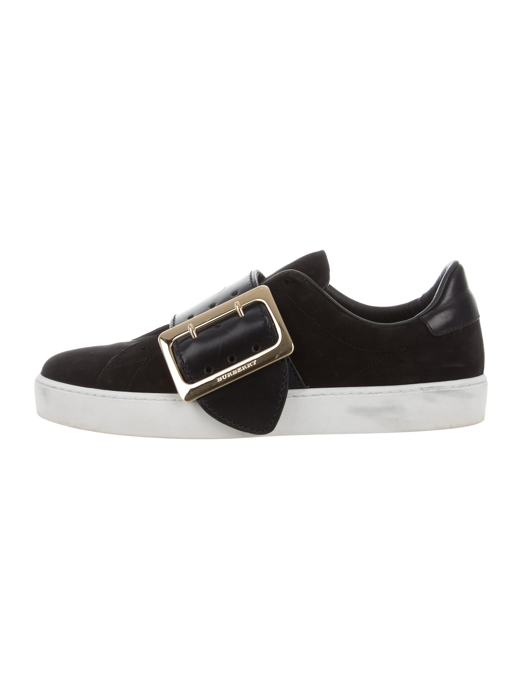 burberry nubuck slip on sneakers shoes bur69020 the