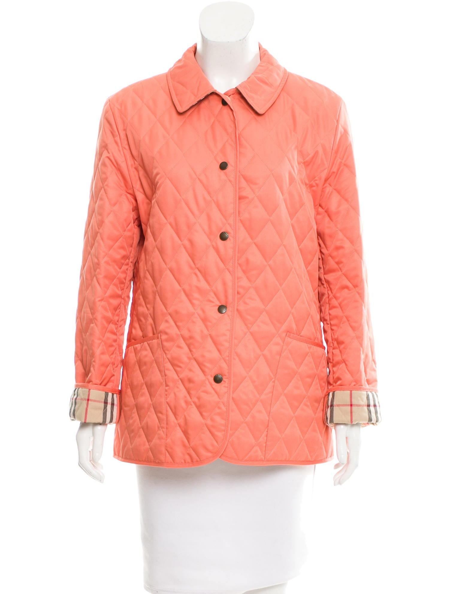 Burberry Classic Quilted Jacket Clothing Bur69141