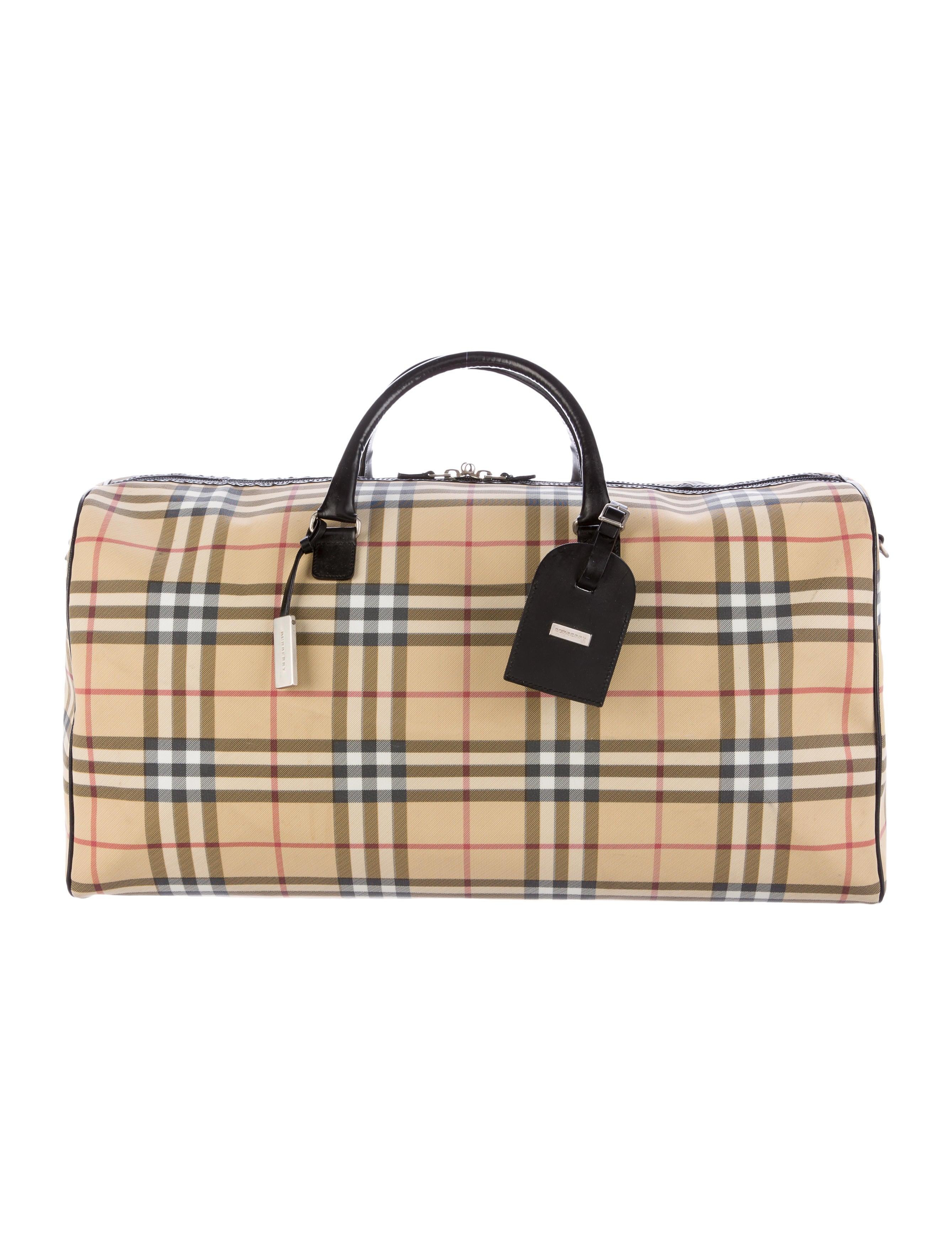 038b3c04d269 Burberry Nova Check Weekender - Handbags - BUR69248