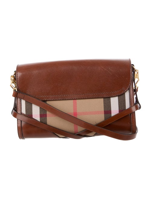 63a41d6b6b0b Burberry Bridle House Check Abbott Crossbody Bag - Handbags ...
