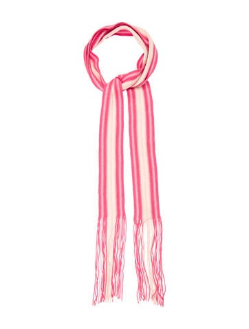 Burberry Wool Fringe Scarf None