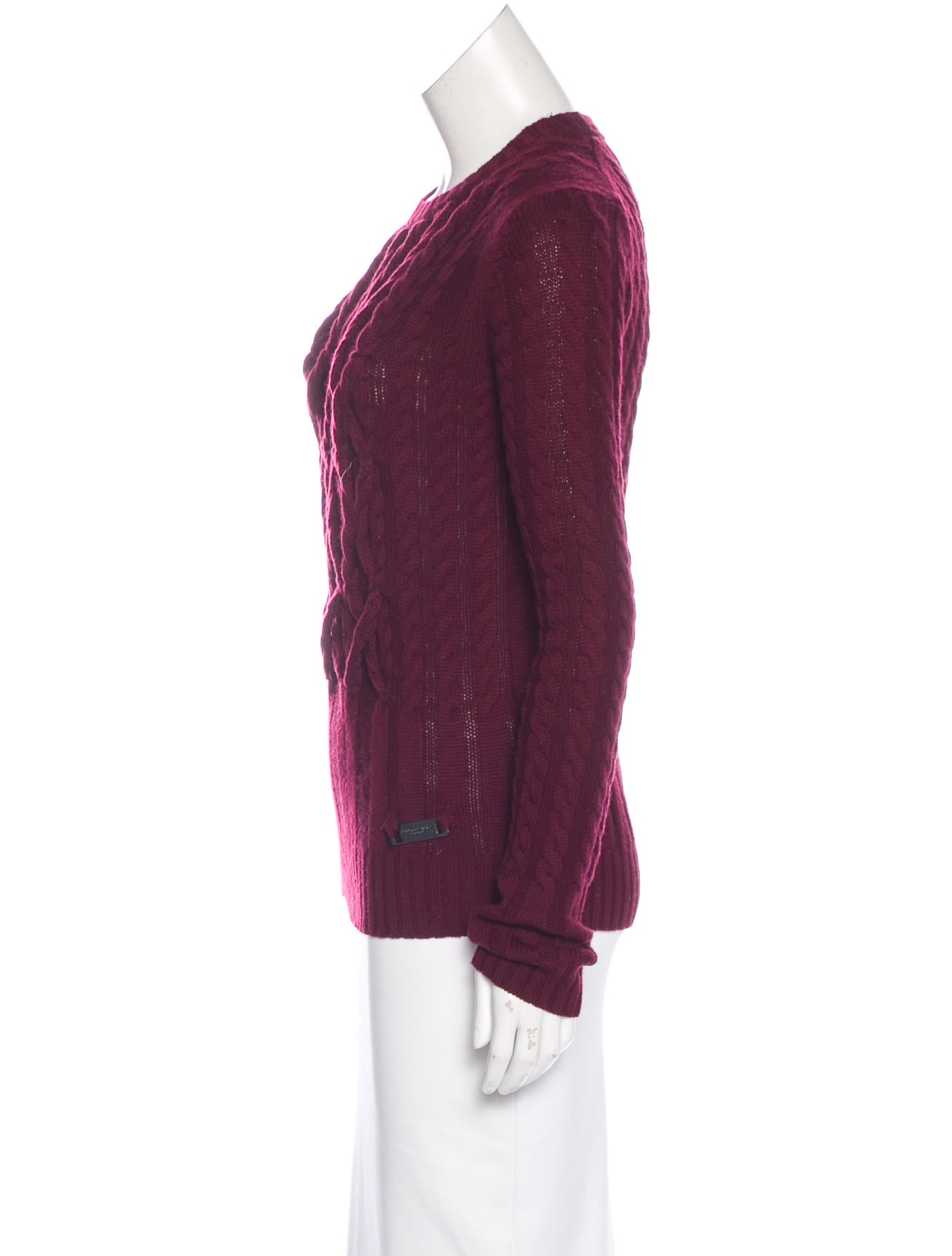 Wool Cable Sweater 29