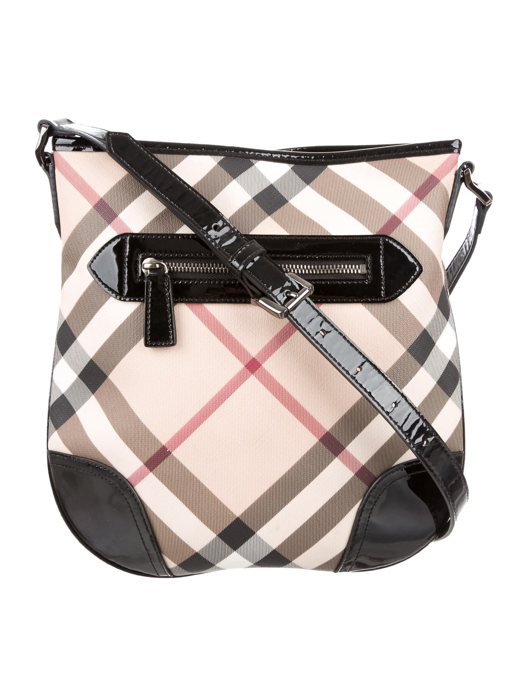 a36e19e5612 Burberry Dryden Nova Check Crossbody Bag - Handbags - BUR70468 | The ...