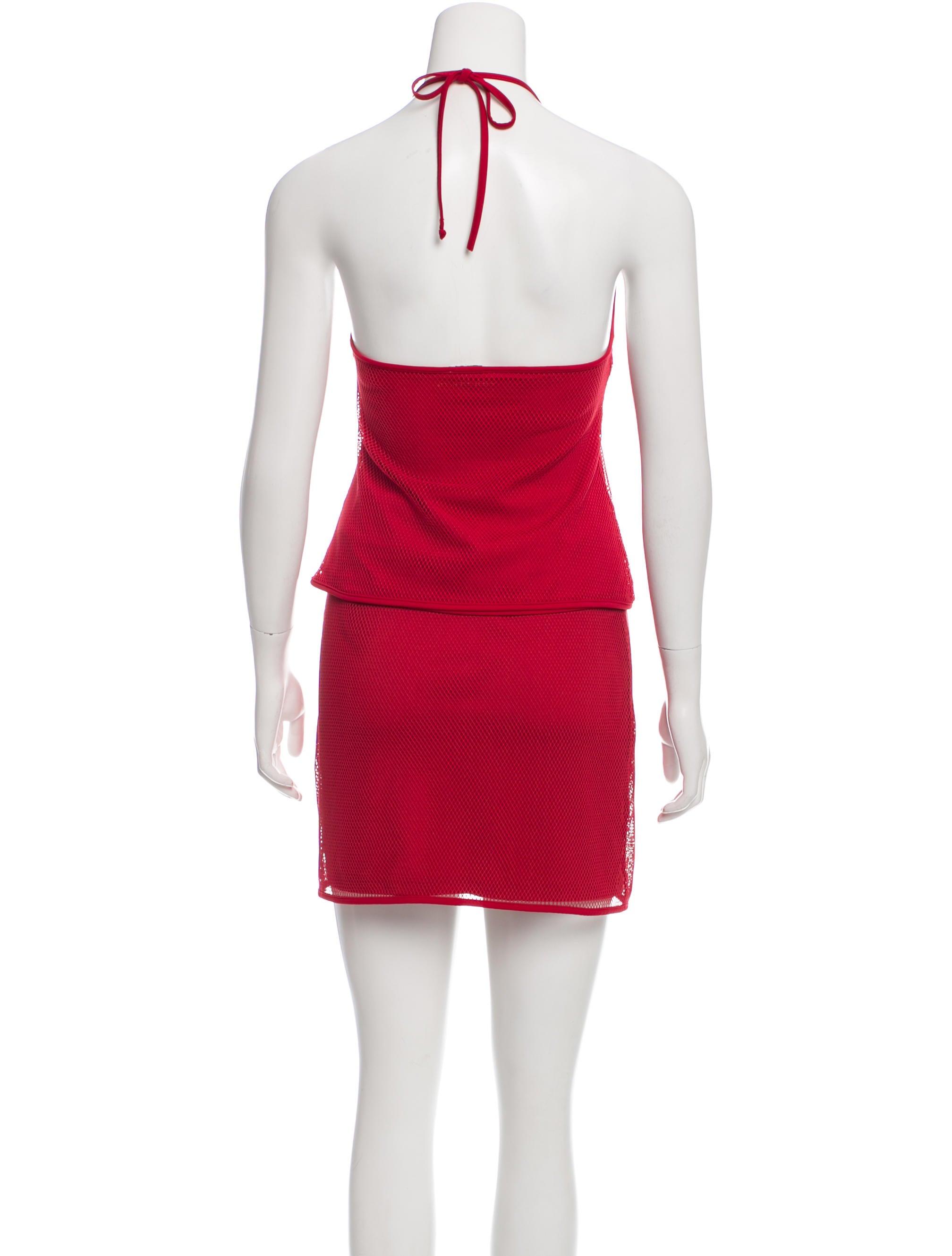 Mesh Mini Skirt 2