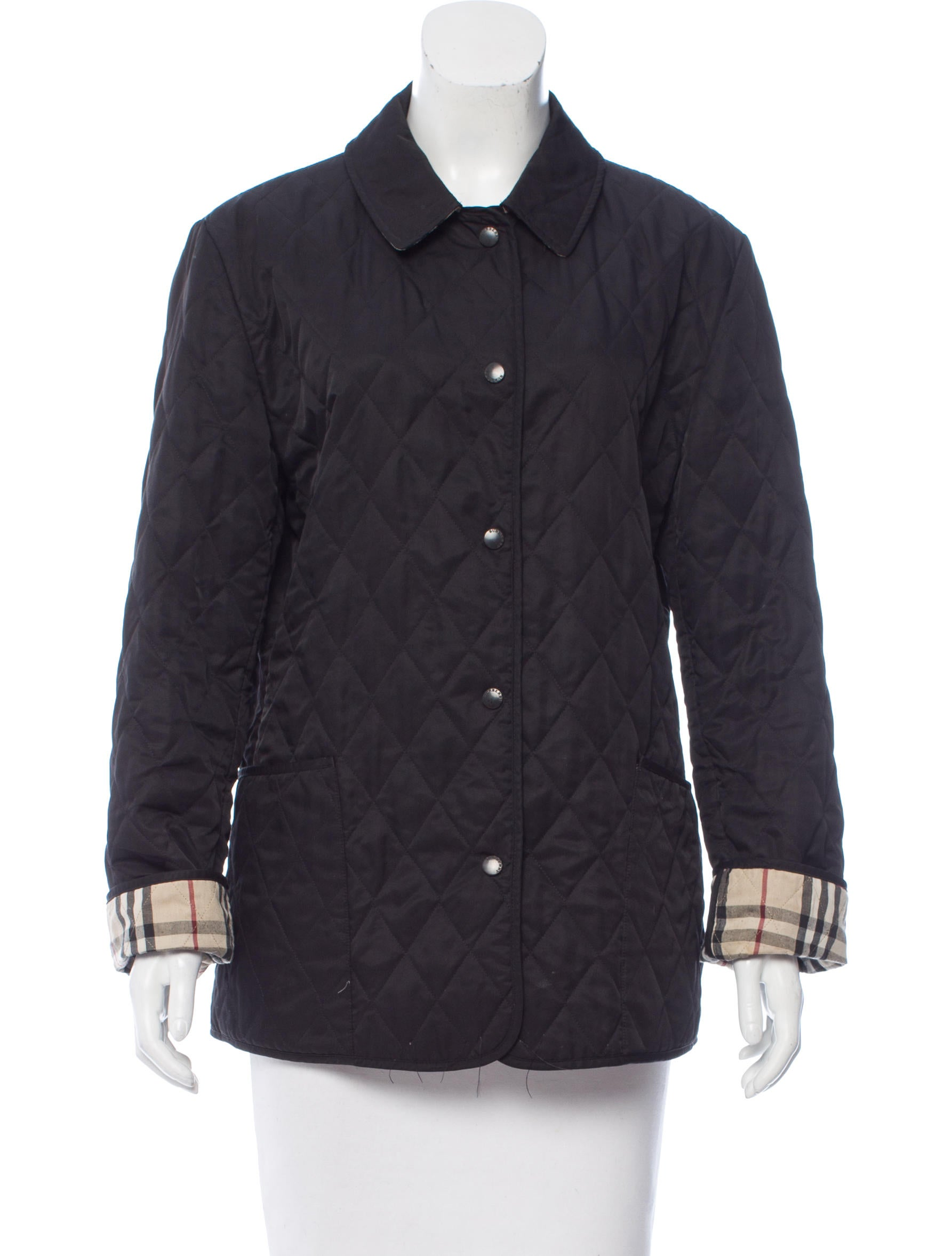 Burberry Constance Quilted Jacket - Clothing - BUR71071 | The RealReal