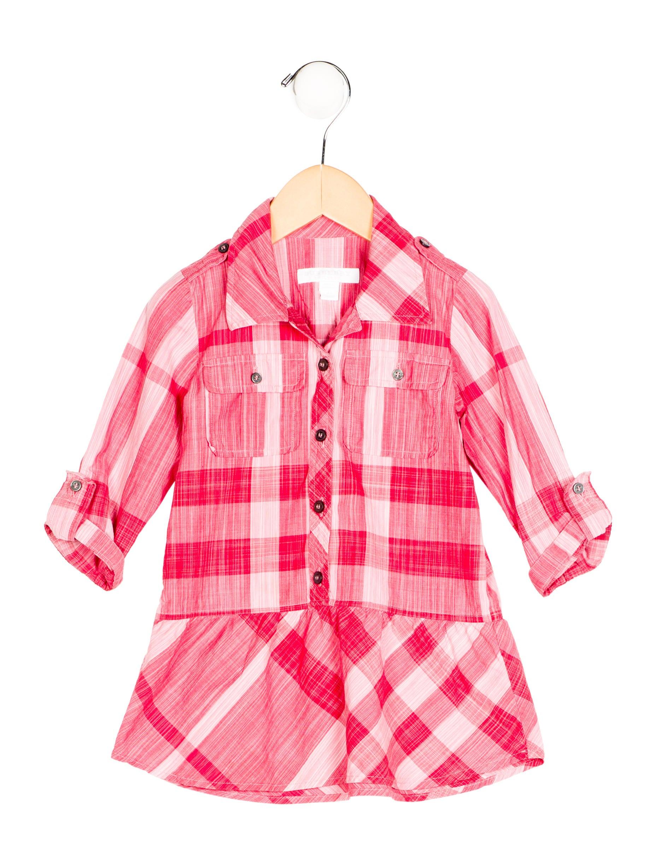burberry girls exploded check shirt dress girls