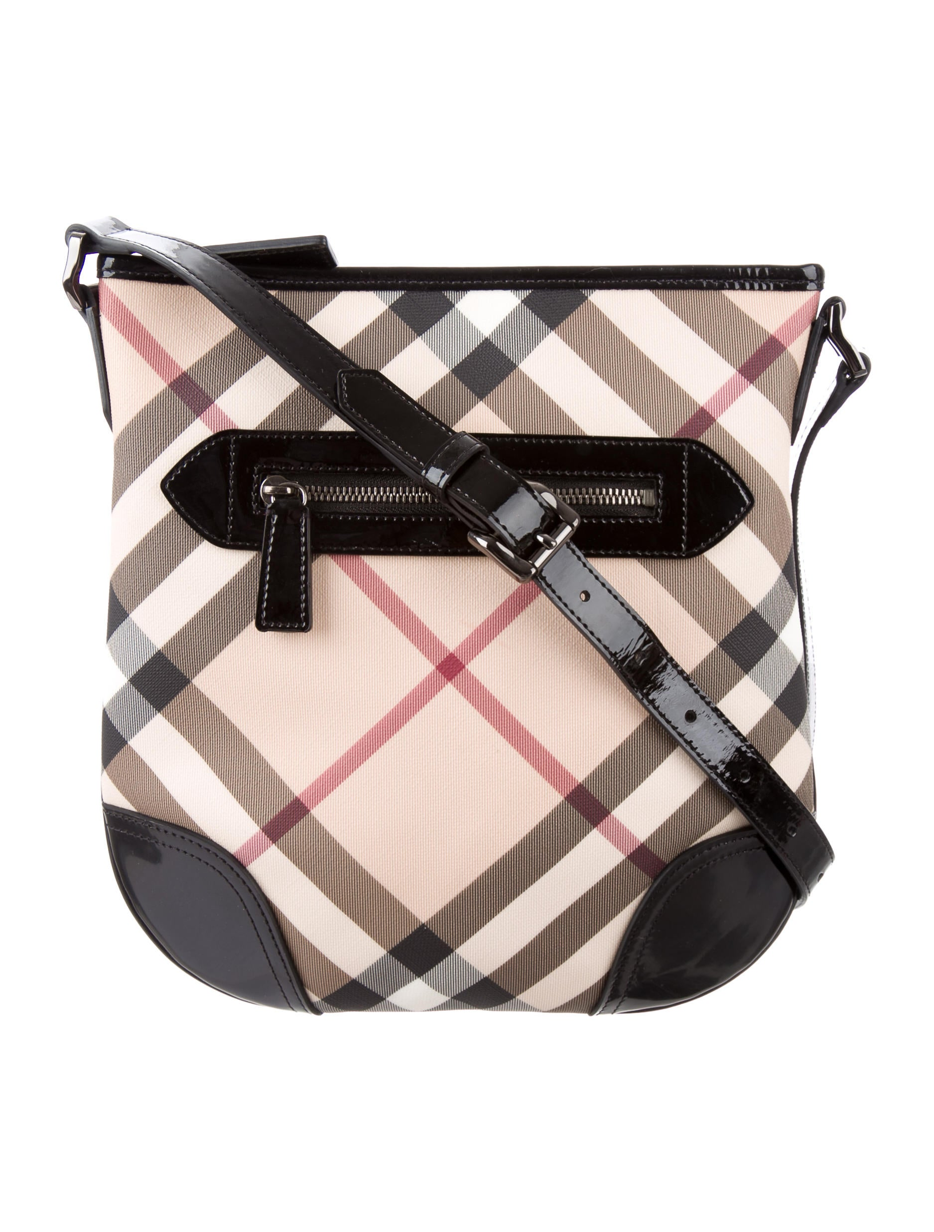 ba5ef96a2c3 Burberry Dryden Nova Check Crossbody Bag - Handbags - BUR71437 | The ...