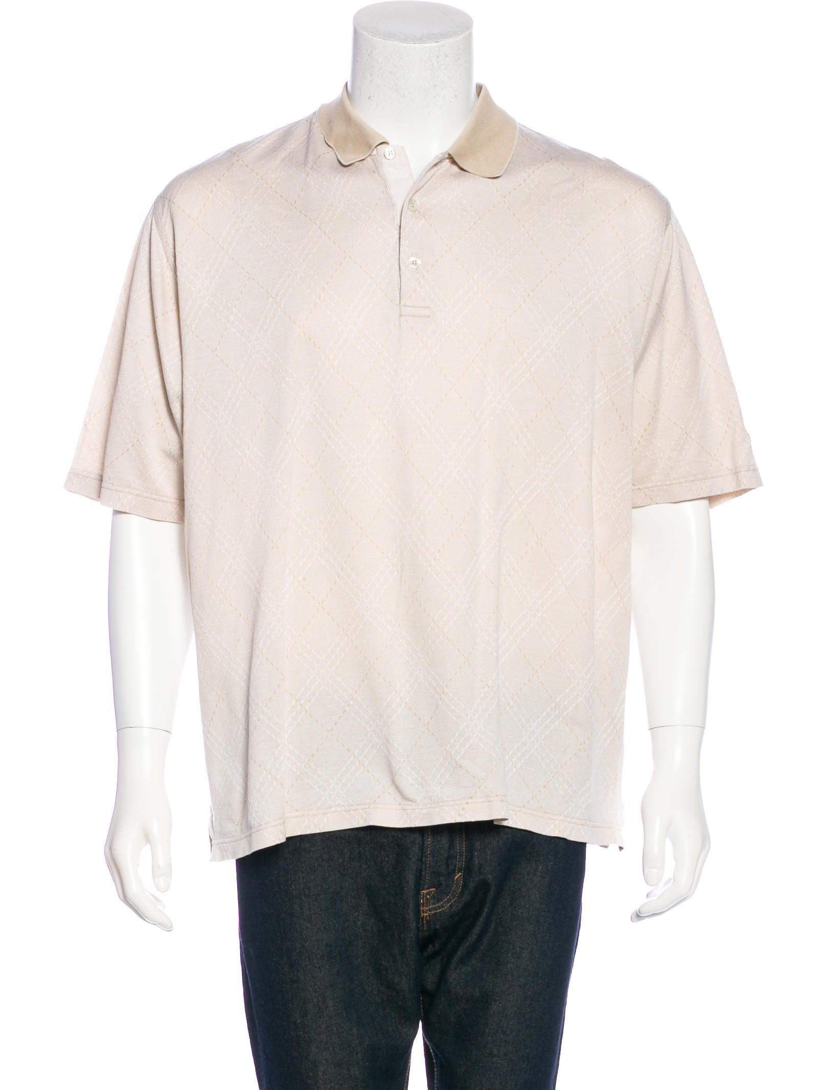 burberry golf polo shirt clothing bur72083 the realreal