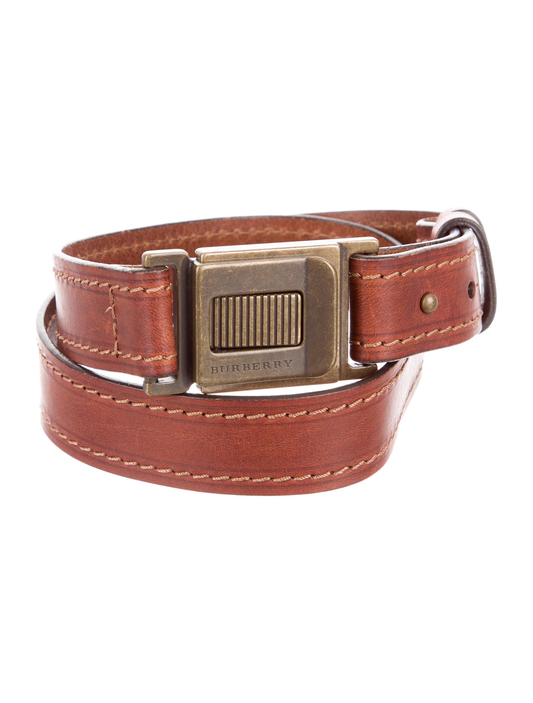 burberry adjustable leather belt accessories bur72717