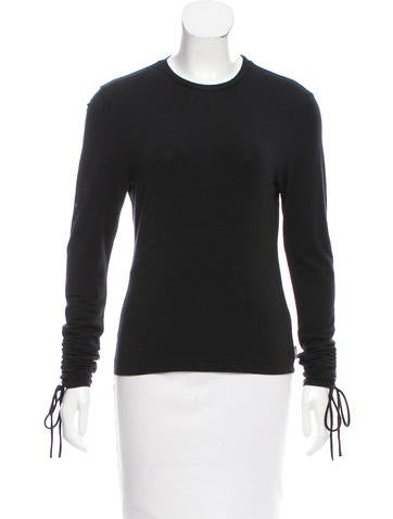 Burberry Wool Long Sleeve Top None