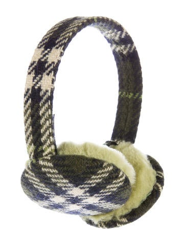 Burberry Cashmere Nova Check Earmuffs None
