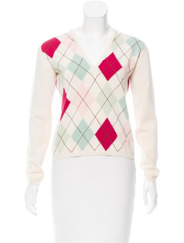 Burberry Wool Argyle Sweater None