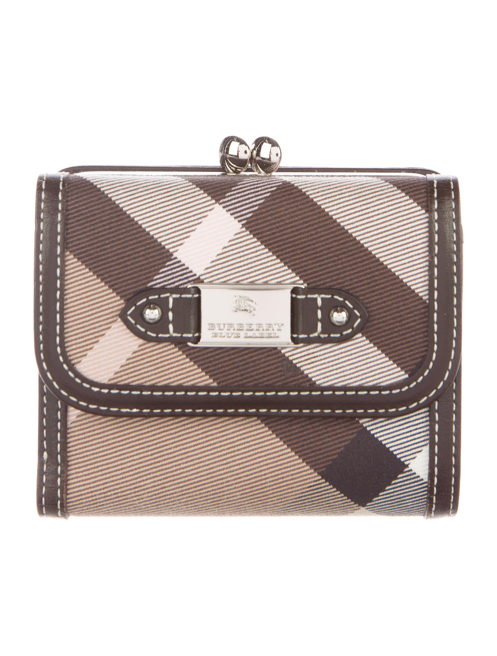 d04bd5613faa Burberry Giant Check Wallet - Accessories - BUR74396