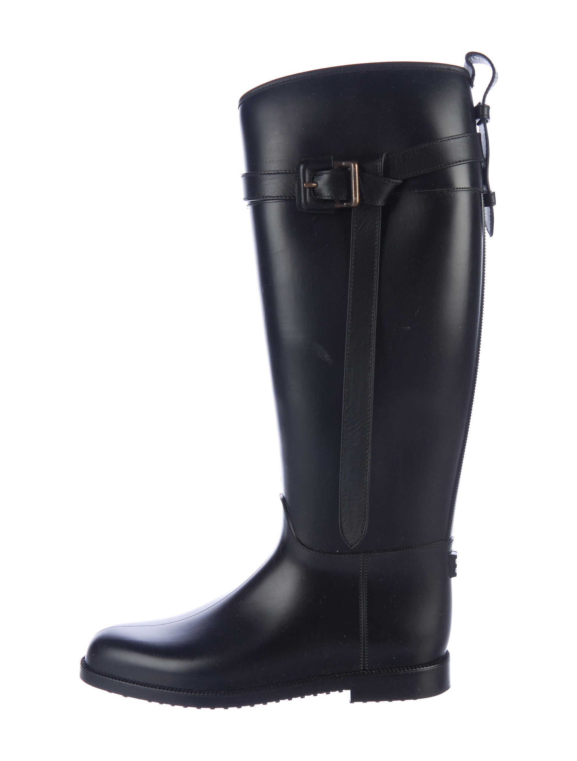 burberry rubber knee high boots shoes bur75607