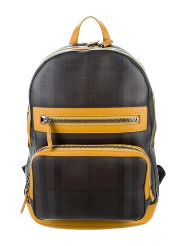 Burberry Check Backpack None