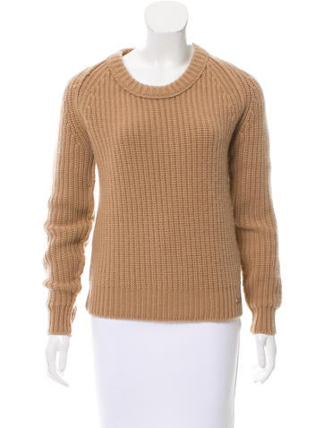 Burberry Long Sleeve Cashmere Sweater None