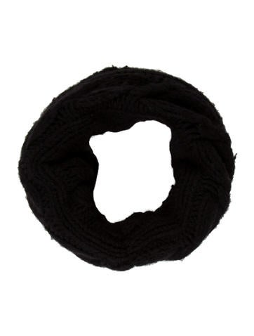 Burberry Black Wool Snood None