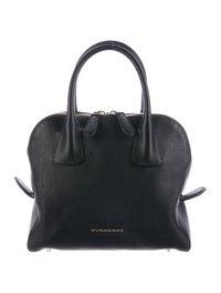78b7d6dc03 Burberry Small Greenwood Bowling Bag - Handbags - BUR76650 | The ...