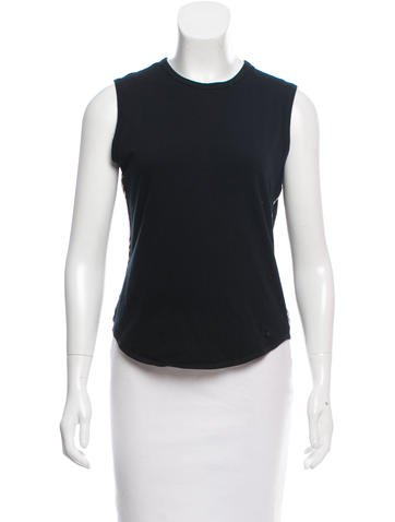 Burberry Sleeveless Knit Top None