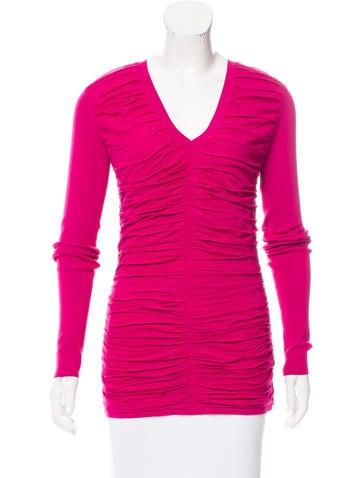 Burberry Silk Knit Top None