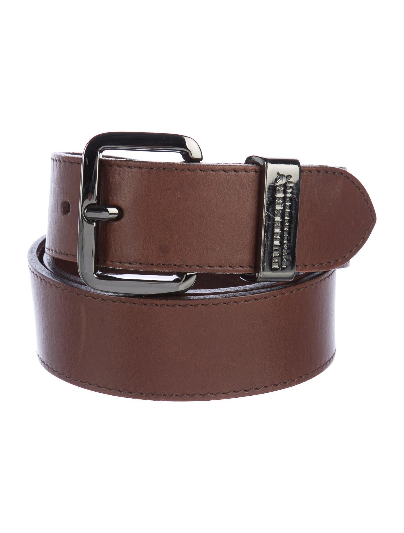 burberry leather buckle belt accessories bur76893