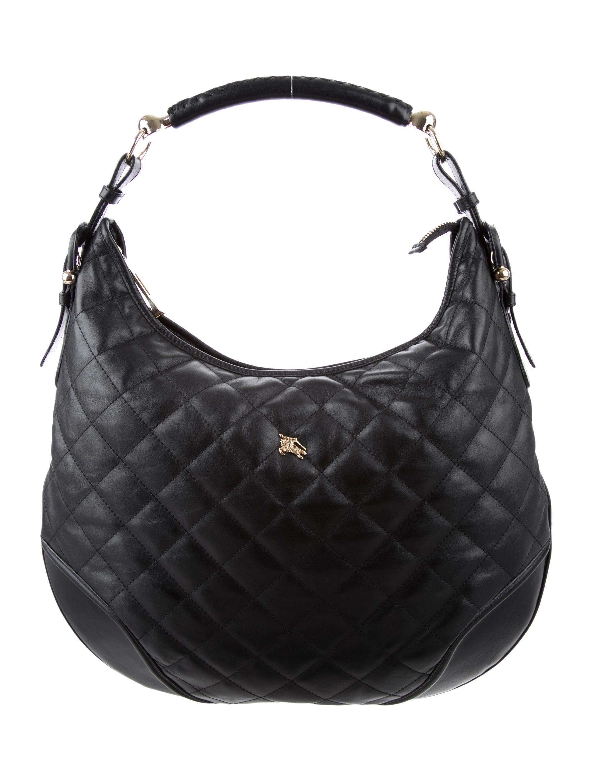 Burberry Hoxton Quilted Hobo - Handbags - BUR77060  ec91f9013c380