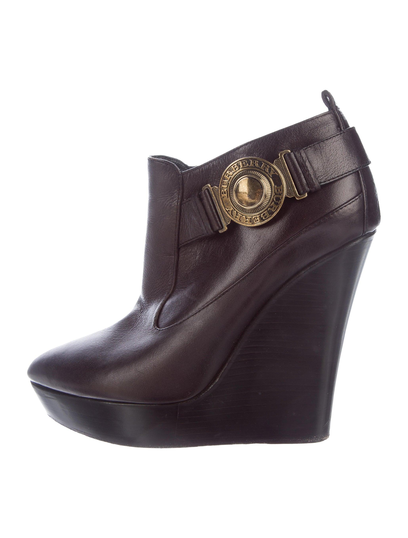 burberry platform wedge ankle boots shoes bur77400