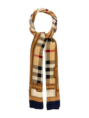 Burberry Nova Check Silk None