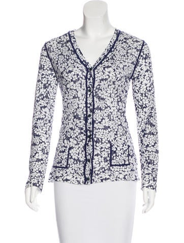 Burberry Printed Knit Cardigan None
