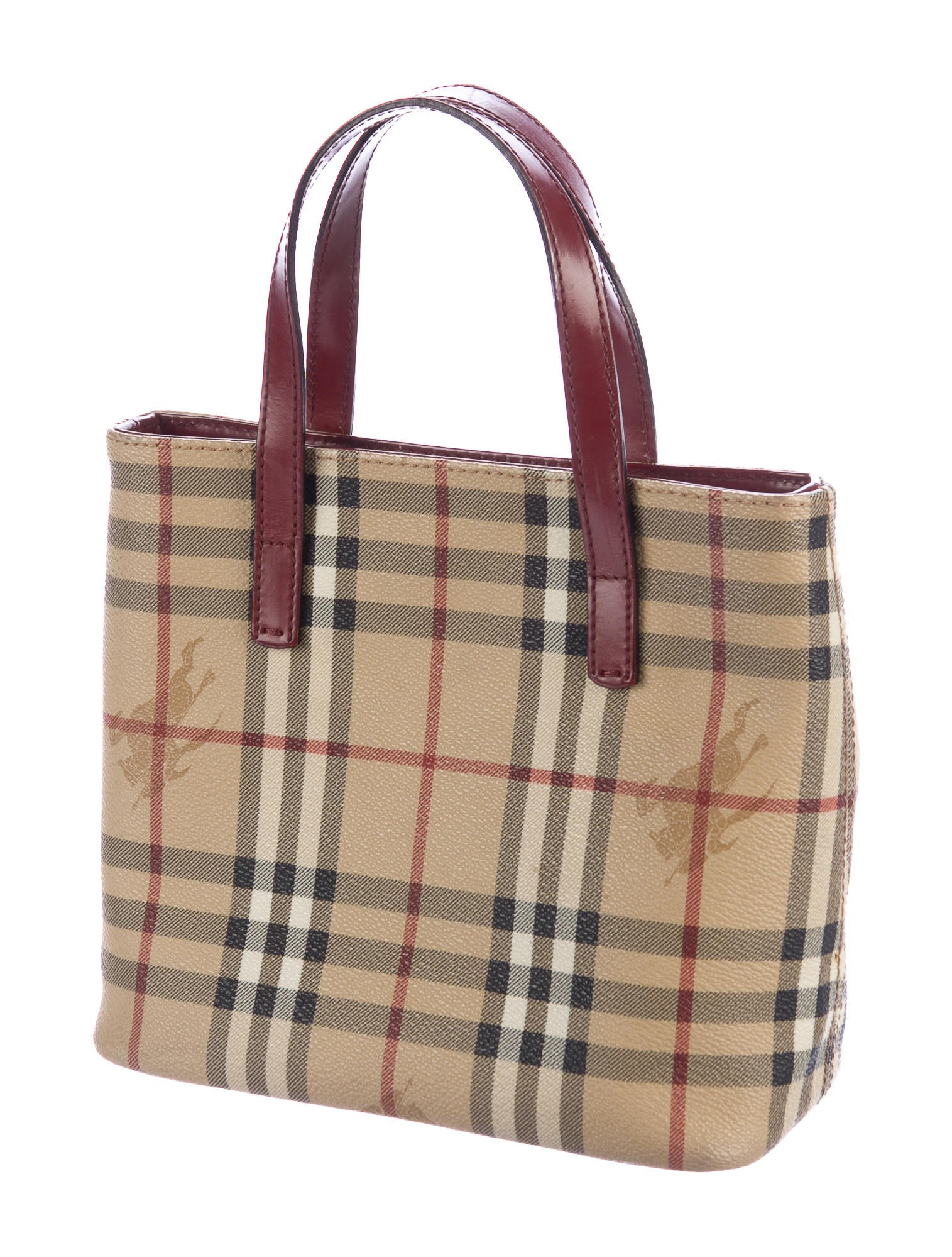 0b7fc827325e Burberry Haymarket Check Tote At The Outlet | Stanford Center for ...