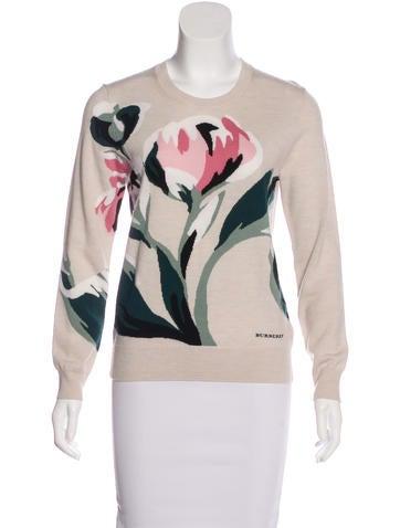 Burberry Wool Intarsia Sweater None
