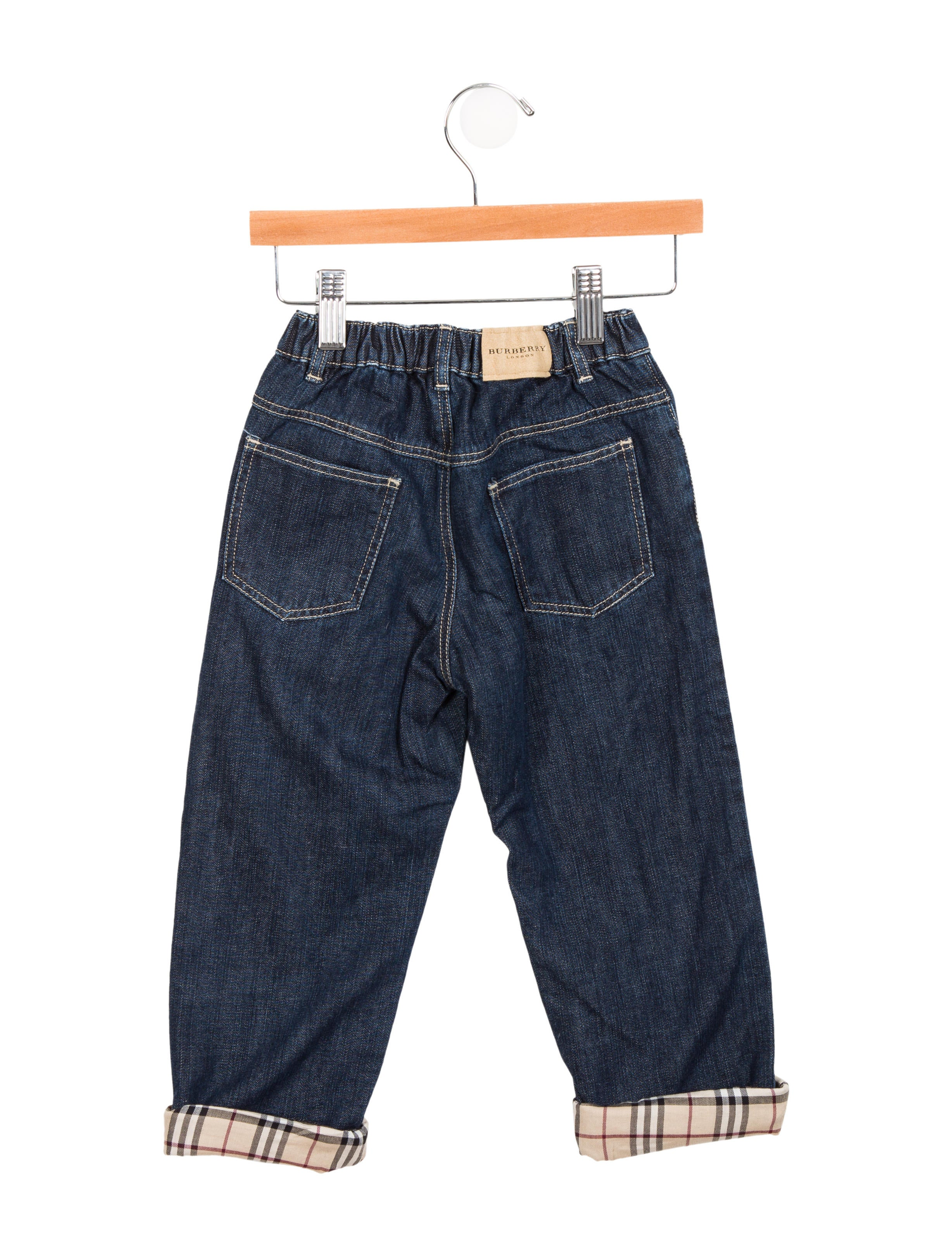 Burberry Boys Mid Rise Straight Leg Jeans Boys  : BUR791222enlarged from www.therealreal.com size 2456 x 3241 jpeg 756kB