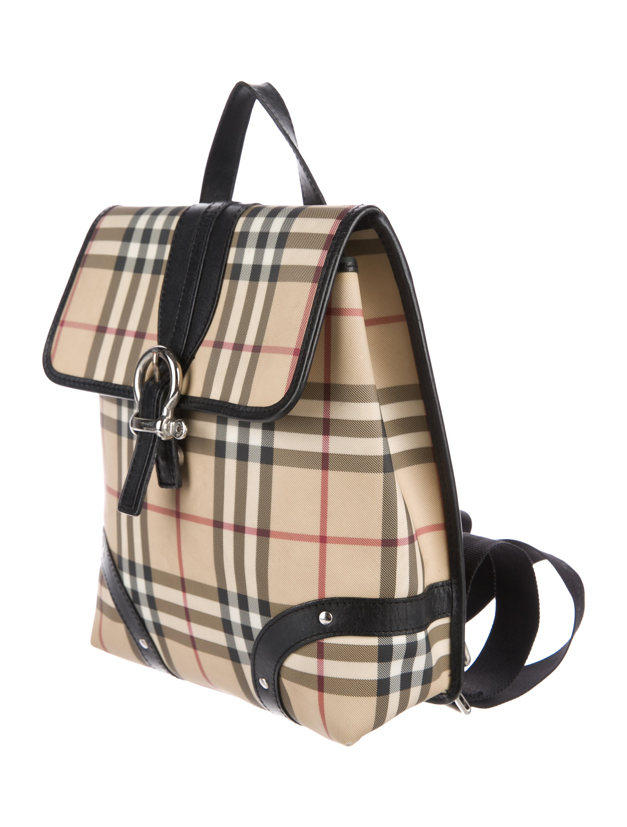 Burberry Nova Check Backpack - Handbags - BUR79674 | The ...
