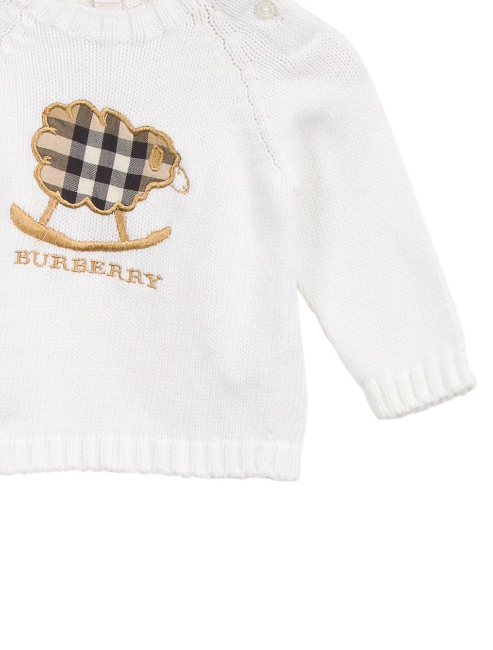 Burberry Boys Nova Check Logo Sweater Boys BUR80130  : BUR801303enlarged from www.therealreal.com size 1015 x 1339 jpeg 100kB