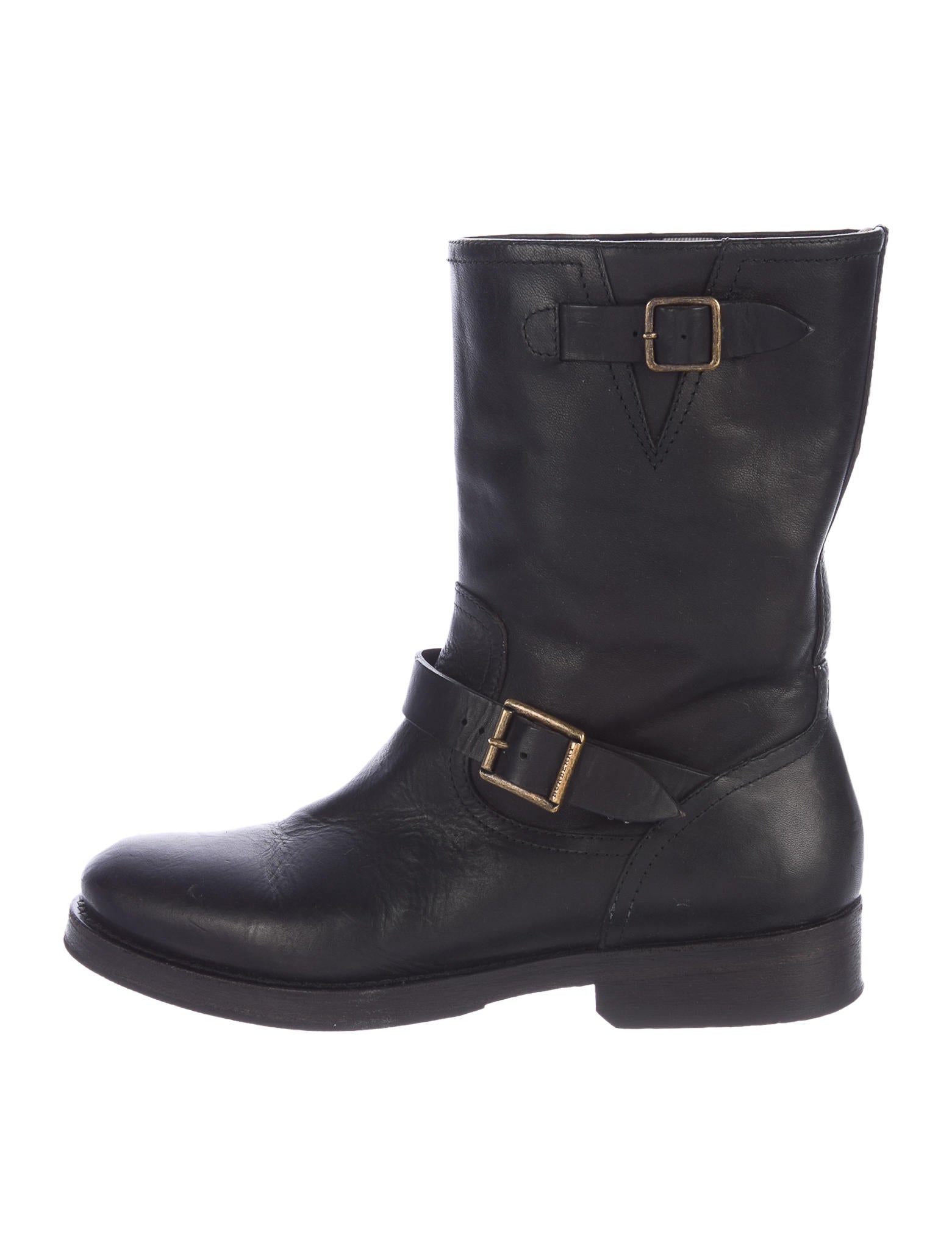burberry biker boots