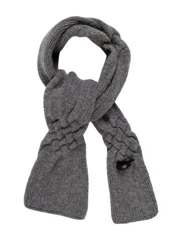 Burberry Wool-blend Knit Scarf None