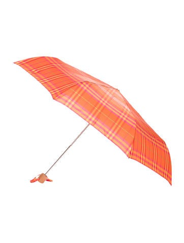 Burberry Nova Check Umbrella None