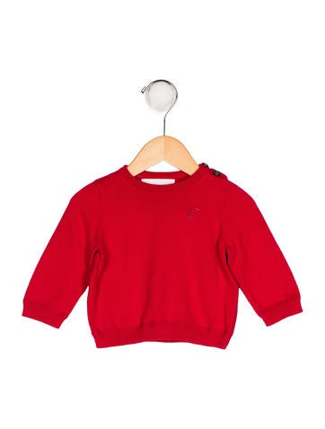 Burberry Boys' Knit Embroidered Sweater None