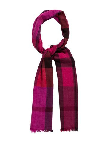 Burberry Wool & Cashmere-Blend Scarf None