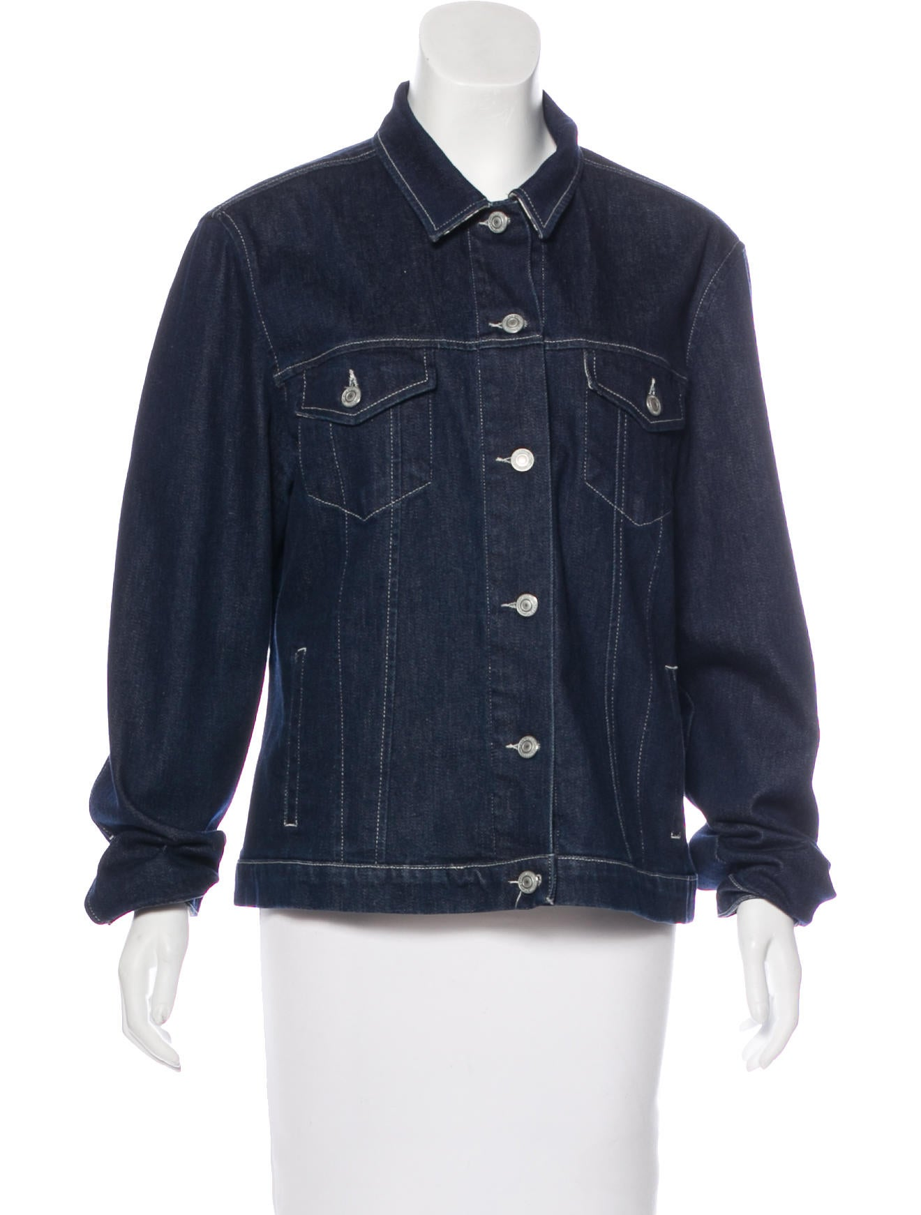 Burberry Dark Wash Denim Jacket - Clothing - BUR82692  723be047a