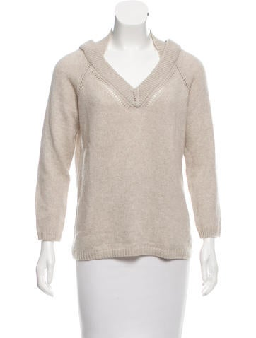 Burberry Cashmere V-Neck Sweater None