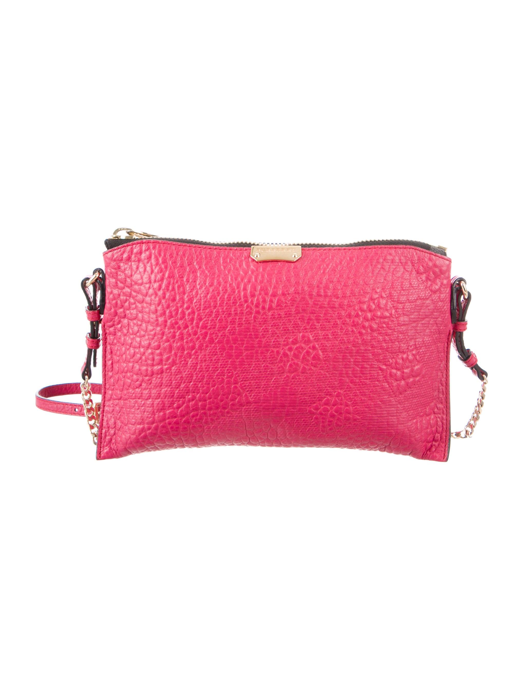 Burberry Embossed Peyton Bag - Handbags - BUR83199   The RealReal 851db35492