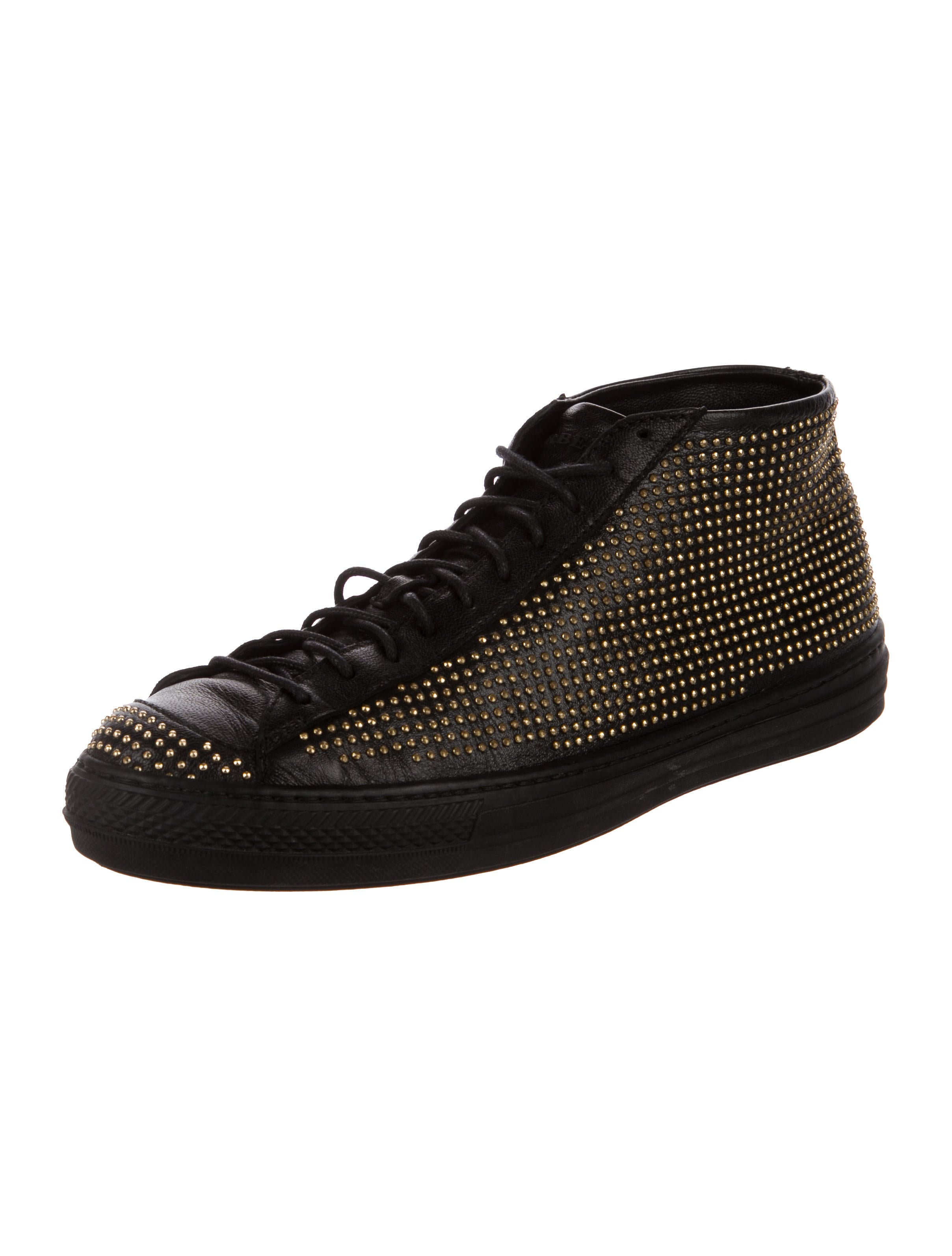 Burberry Fingall High-Top Sneakers cheap pay with visa discount newest D8Tgx