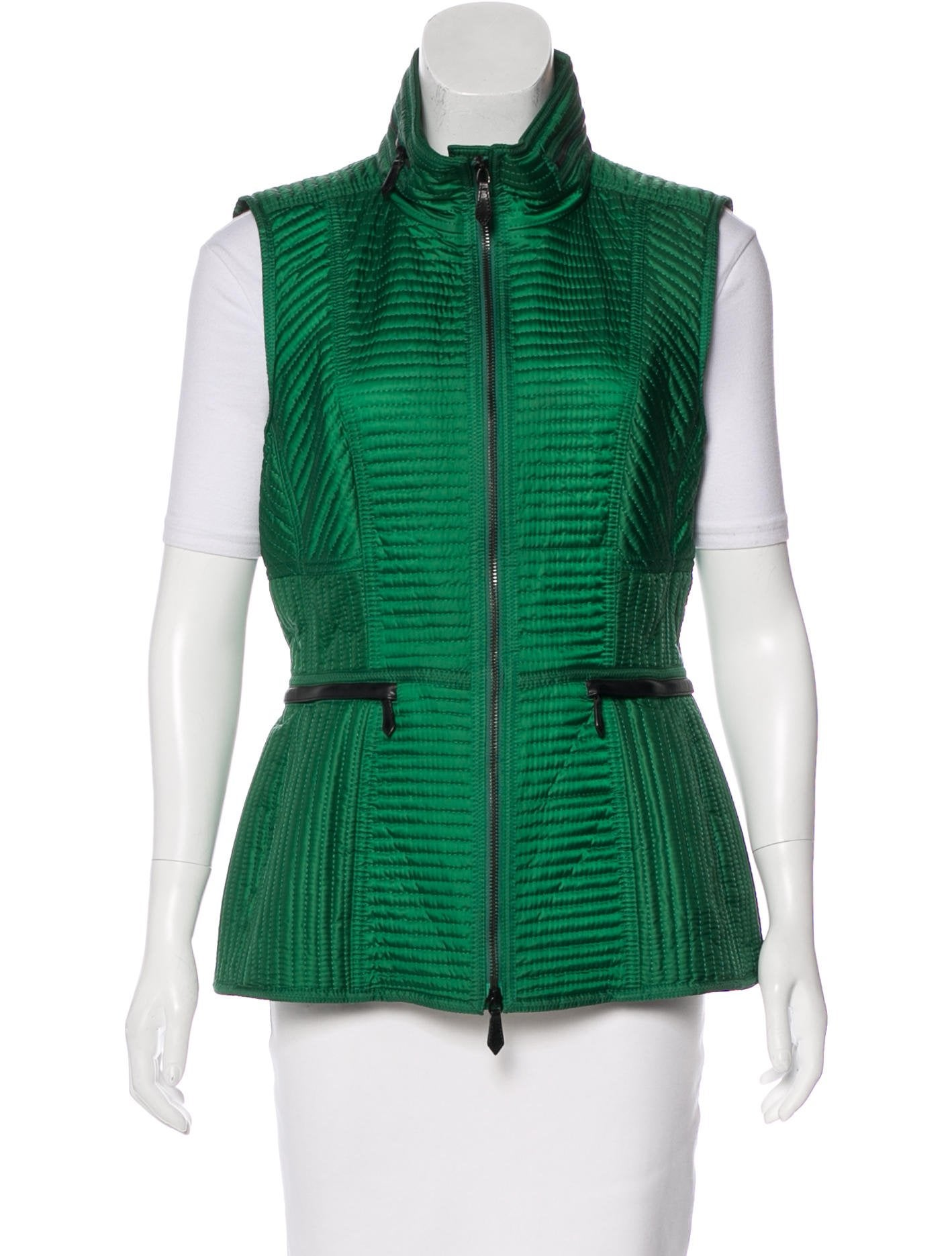 trends versatile fashion green quilted autumn fall five vest vests for quilt