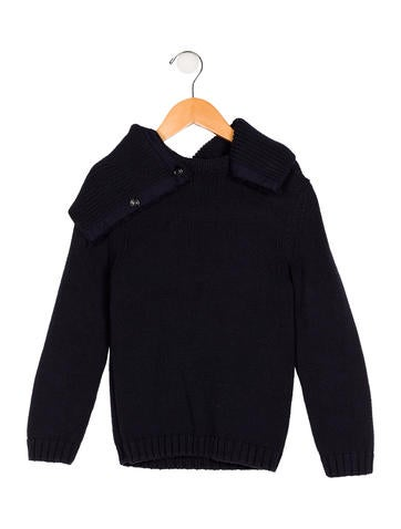Burberry Girls' Collared Pullover Sweater None